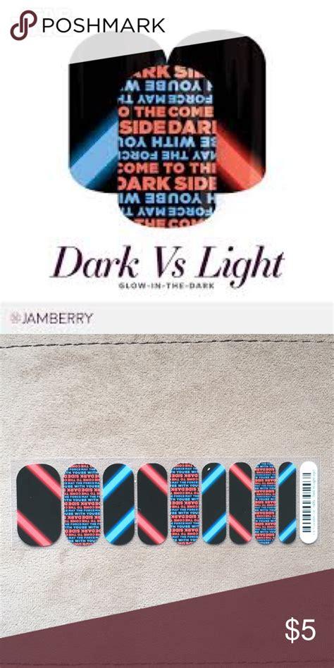 jamberry wraps dark nail vs makeup poshmark side