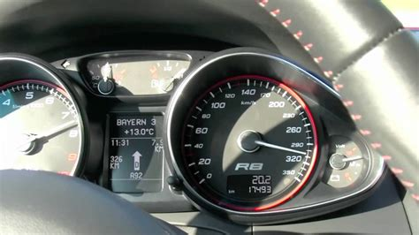 Audi R8 V10 Spyder Top Speed