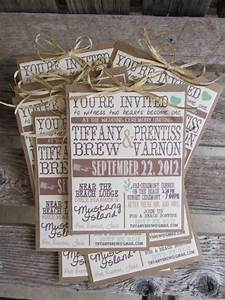 rustic wedding invitations this could be a great diy With country wedding invitations ideas