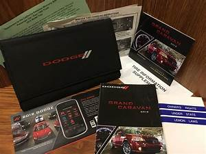 2012 Dodge Grand Caravan Owners Manual American Value Sxt