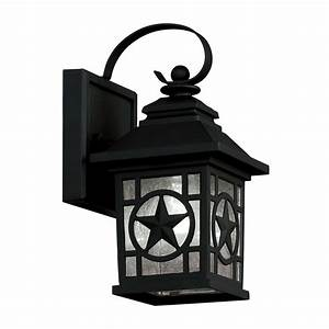 Portfolio pack in h black outdoor wall lights