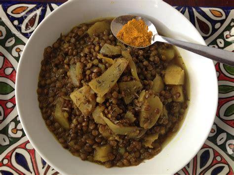 comment cuisiner lentilles curry de lentilles vertes aux patates douces 1 2 3 veggie