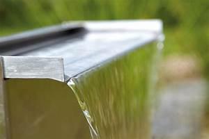 Lame D Eau Bassin : kit pied lame d 39 eau waterfall set 30 cm inox oase pompe ~ Premium-room.com Idées de Décoration