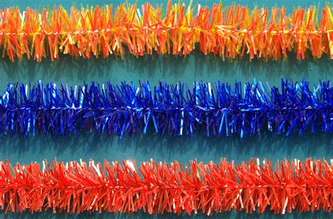 metallic and colored commercial christmas garland