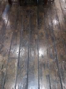 Stamped Concrete That Looks Like Wood Floors