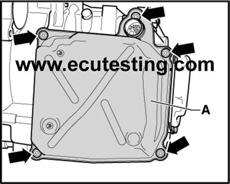manual repair autos 2008 audi s8 transmission control dsg gearbox ecu removal instructions