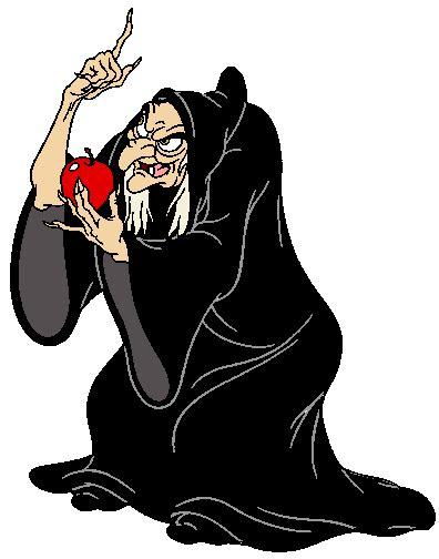 evil queen witch  huntsman clip art disney clip art