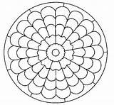 Mandala Mandalas Dibujos Coloring Pintar Dibujo Colorir Colorear Colorare Coloriage Desenho Line Colorier Imprimir Coloringcrew Dibujar Cd Alyssa Sin Colored sketch template
