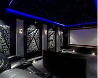 home theater design ideas 80 Home Theater Design Ideas For Men - Movie Room Retreats