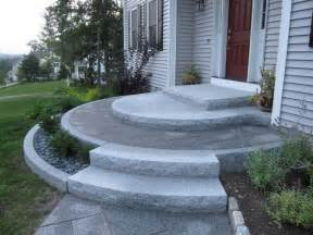 front entrance steps entrances and steps landscaping in ma natural path landscaping