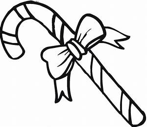 Christmas Coloring Pages Candy Cane