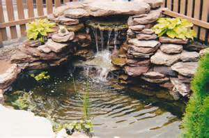 Small Gardens Waterfalls and Ponds