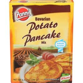 Next, add two eggs to a medium bowl, whisk then mix in sweet potatoes, milk, butter and vanilla. Panni Bavarian Potato Pancake Mix, 6.63 Ounce -- 12 per case