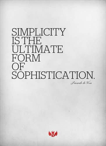 Leonardo da vinci simplicity sophisticated text ...