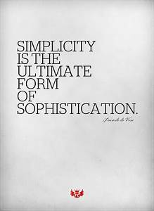 leonardo da vinci, simplicity, sophisticated, text ...