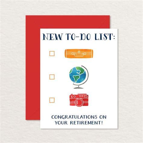 printable retirement card congratulations retirement