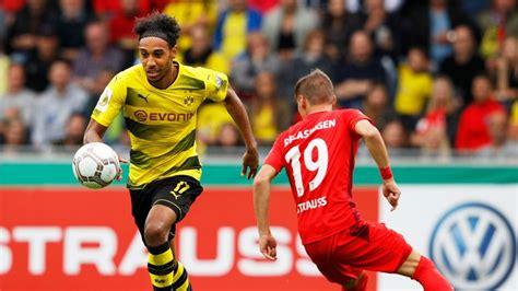 Pierre-Emerick Aubameyang left out by Borussia Dortmund ...