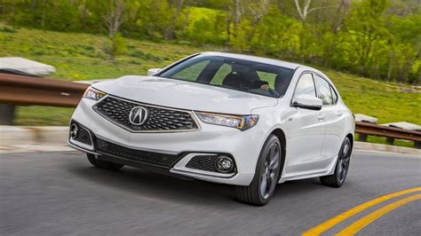 Acura Tlx 4 Cylinder by 2019 Acura Tlx Expands A Spec Trim To Four Cylinder Models