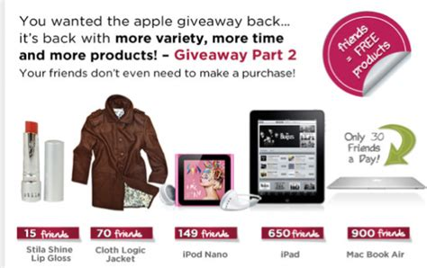 no more rack no more rack refer friends and earn free apple products