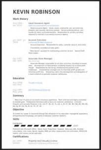 insurance broker resume templates insurance resume exles