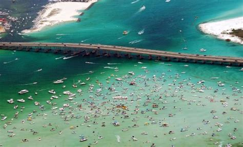 Used Pontoon Boats Destin Fl by Crab Island In Destin Florida Picture Of