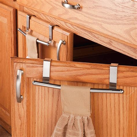 kitchen cabinet towel bar kitchen cabinet towel bar set of 2 towel holder walter