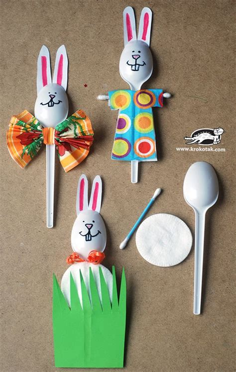 10 and easy easter crafts with household objects