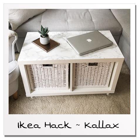 Ikea Couchtisch Hack by Ikea Hack Wohnzimmertisch Aus Kallax Regal