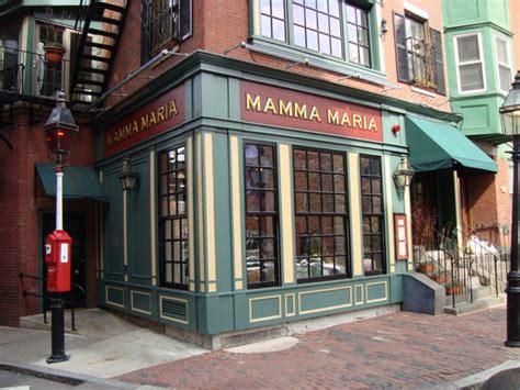 mamma maria boston north  menu prices