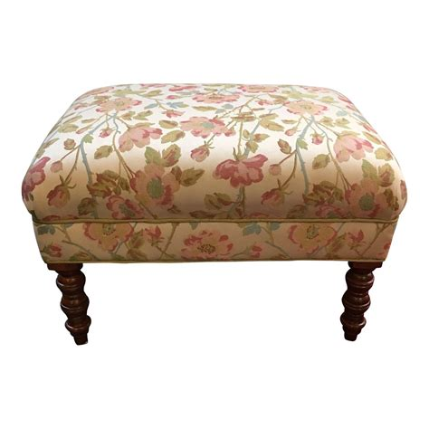Custom Ottoman by Custom Upholstered Ottoman Design Plus Gallery