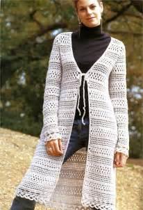 Easy Long Crochet Cardigan Patterns Free