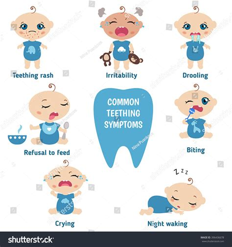 Image Gallery Teething Symptoms