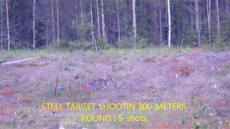 steel plate shooting   meters youtube