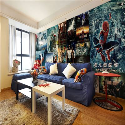 Wall Posters For Bedroom Large Mural Bedroom Living Room Sofa Background Wall