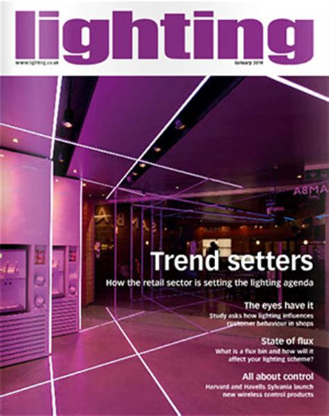 lighting and decor magazine instyle led lights feature on front cover of lighting magazine