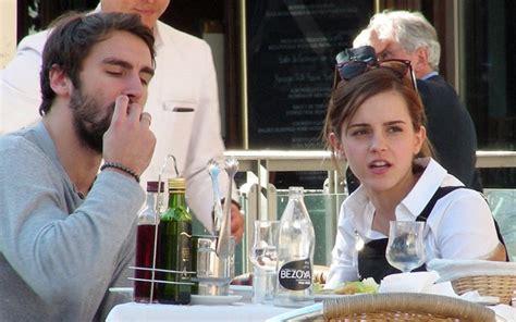emma watson  boyfriend matthew janney  lunch