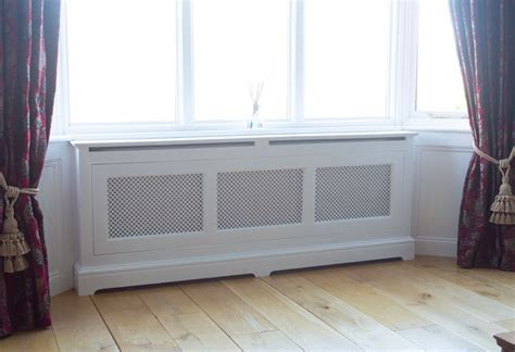 Handcrafted bespoke radiator covers made in YorkshireFine