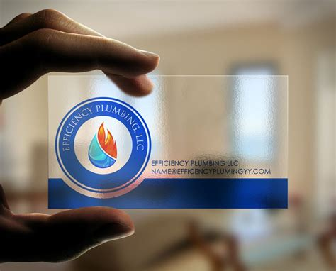 plumbing logo  business card design  company based