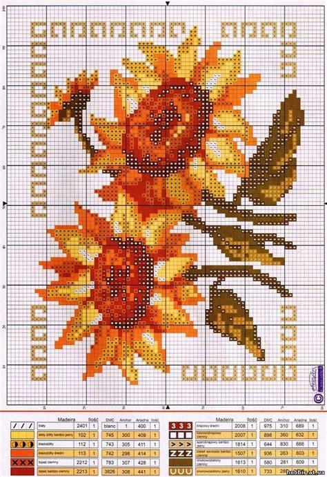 schemi punto croce fiori schemi a punto croce fiori d autunno