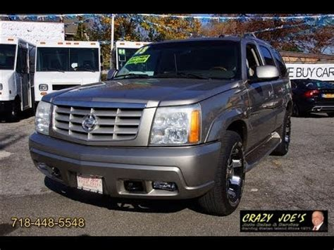 automobile air conditioning repair 2003 cadillac escalade user handbook 2003 cadillac escalade used car for sale staten island ny youtube