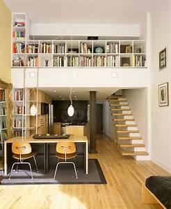Mezzanine deco for Deco maison avec poutre 14 escalier poutre centrale mezzanine moderne escalier