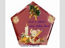 1 Advent Whatsapp Bilder Grüsse Facebook BilderGB