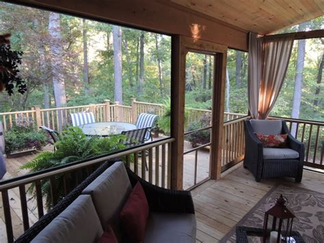 screened  porch deck traditional porch baltimore