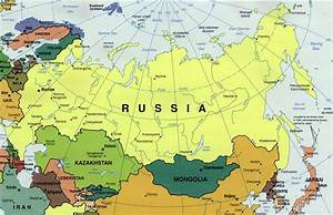 Political map of Russia. Russia political map | Vidiani ...