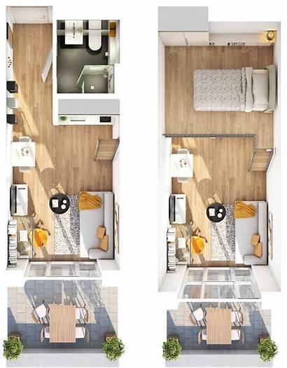 Studio Apartment Grundriss Galerie Apartments Tiny Sims