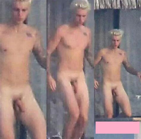 justin bieber nude proudly baring penis on holiday photo