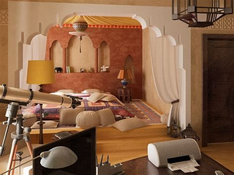 marocain la chambre décoration maison dans style marocain 35 idées inspirantes