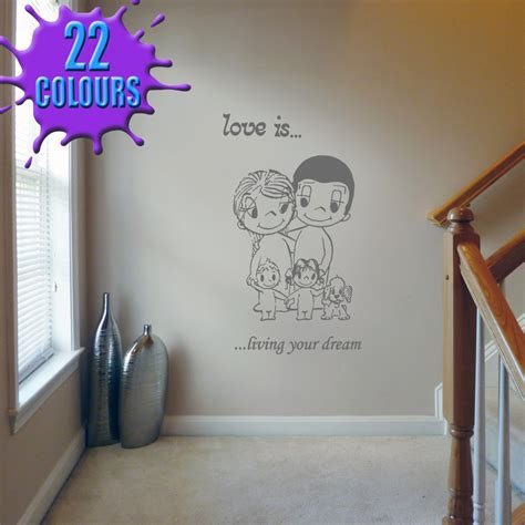 love  love quotes  romantic wall decal stickers lounge