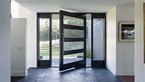 les portes en aluminium veglixcom les dernieres idees With porte d entrée alu avec plaque pour renovation salle de bain