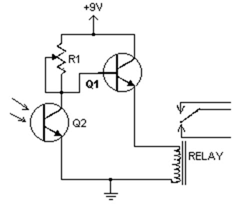 Porch Light With Photocell Wiring Diagram by How To Build Light Detector Circuit Diagram